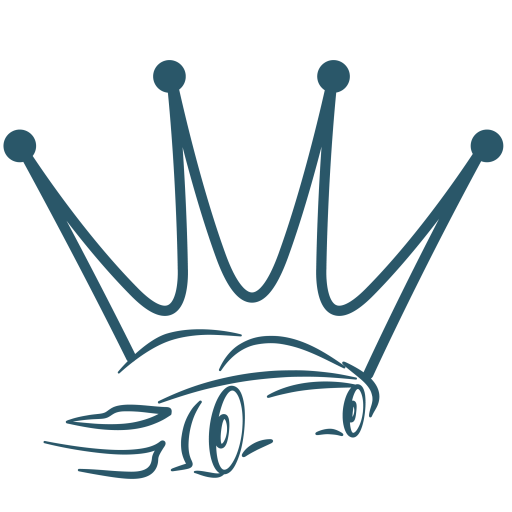 Your Car Buying Advocate Logo with a Crown