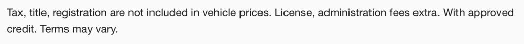 online dealer have to honor online price