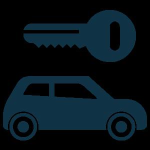 key and car