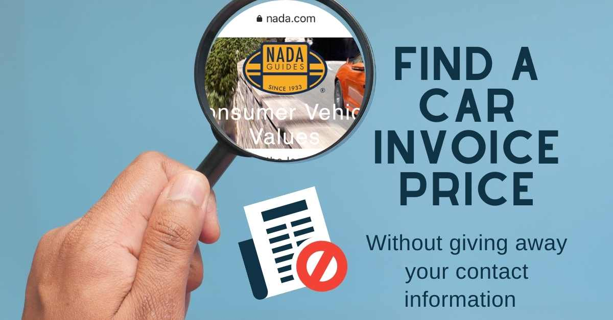 Read more about the article How to find a car invoice price